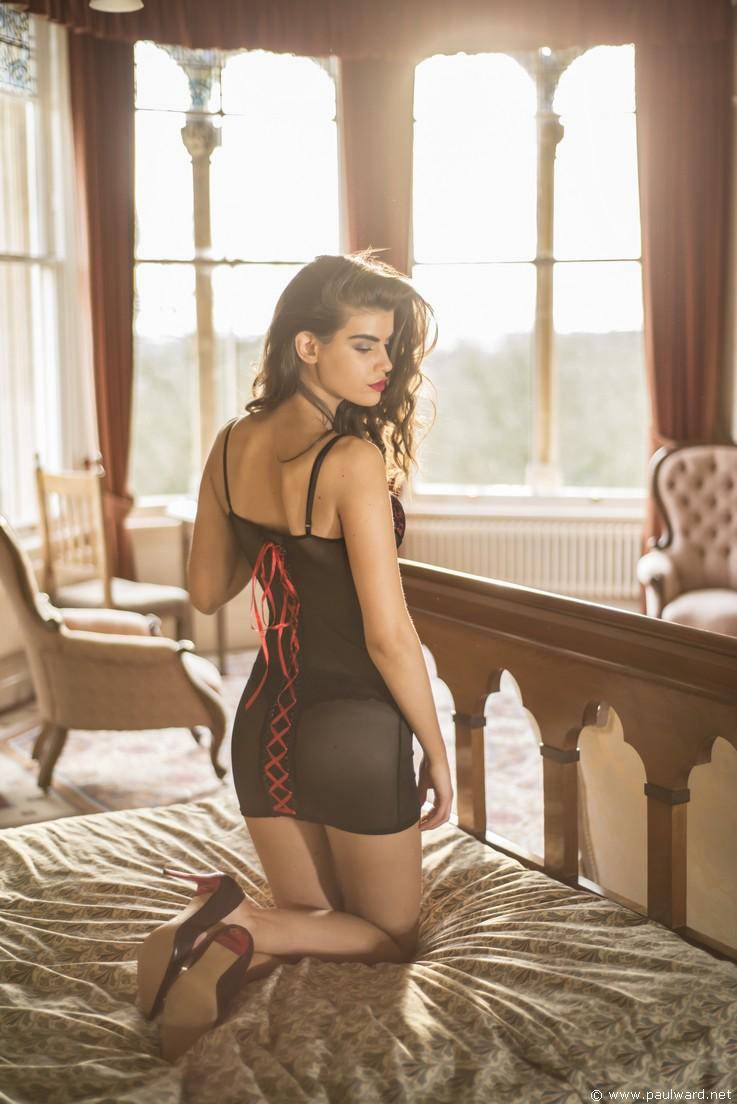 lingerie photography fashion shoot by Birmingham photographer Paul Ward