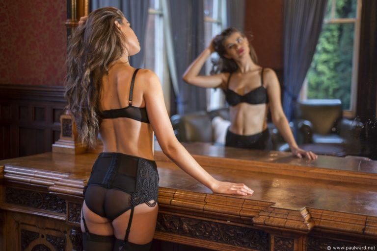 lingerie fashion shoot by Birmingham photographer Paul Ward