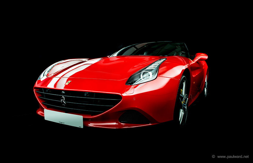Ferrari photography by Birmingham car photographer Paul Ward