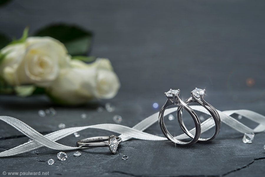 wedding ring photography by Birmingham photographer Paul Ward