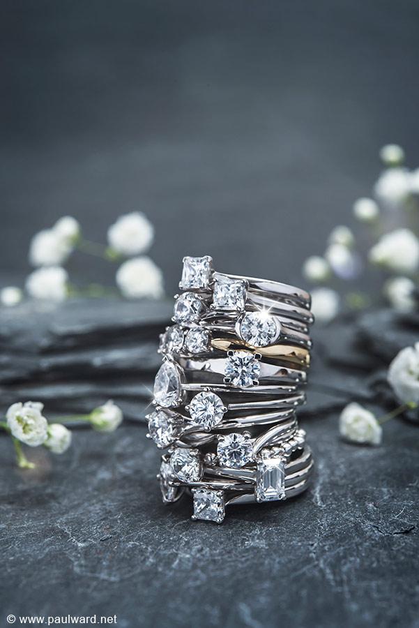 Jewellery photography by Birmingham photographer Paul Ward
