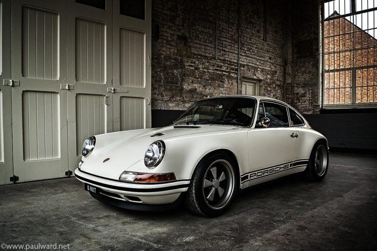 Singer Porsche 911 photography by Birmingham car photographer Paul Ward