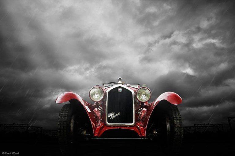 alfa romeo 6c by Birmingham car photographer Paul Ward
