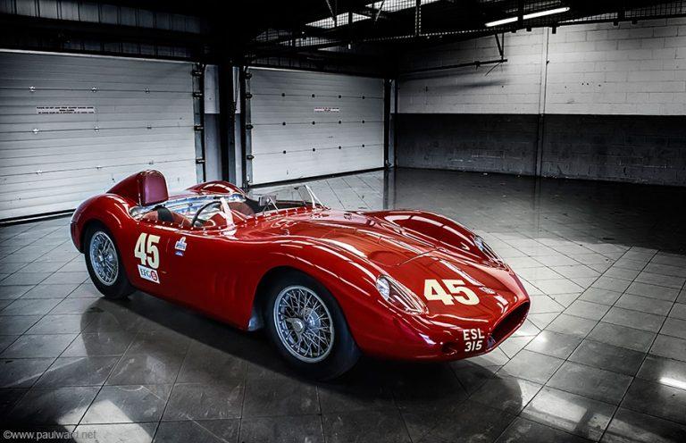 1957 Maserati 250S by Fantuzzi by Birmingham car photographer Paul Ward