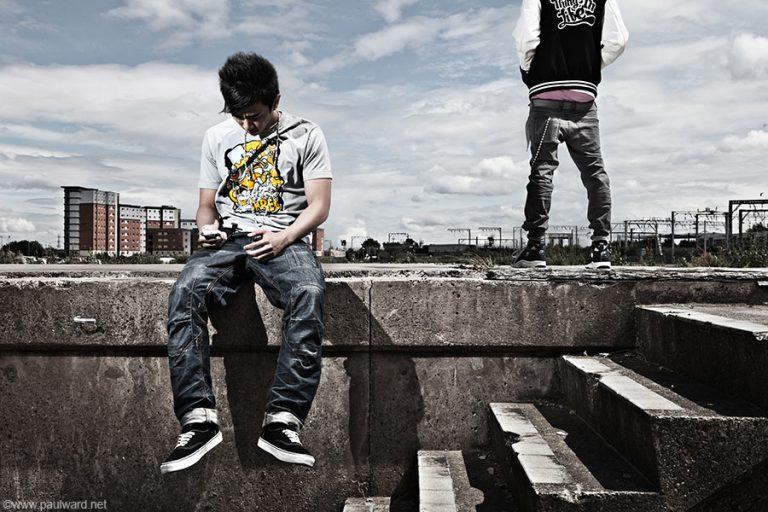 urban fashion by Birmingham photographer Paul Ward