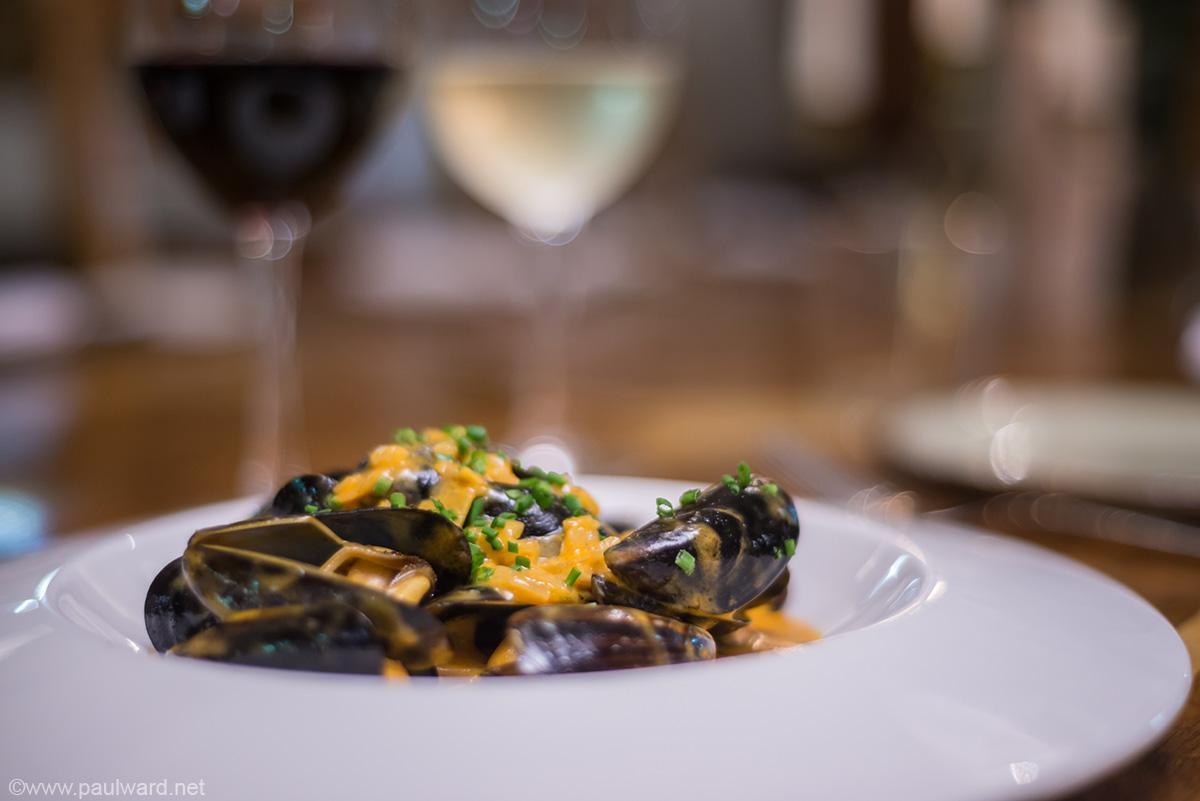 Mussels by Birmingham food photographer Paul Ward