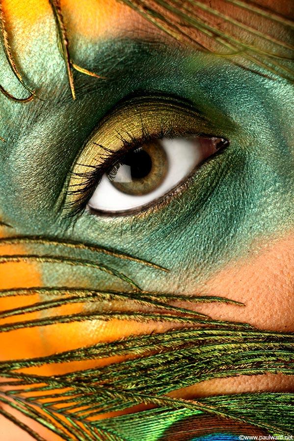 eye makeup by Birmingham photographer Paul Ward