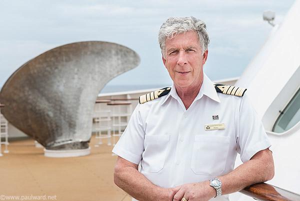 Captain Kevin Oprey by portrait photographer Paul Ward