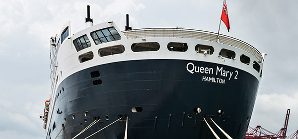 Cunard Queen Mary 2 by Birmingham travel photographer Paul Ward