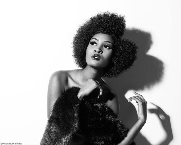 model shot by birmingham hair photographer Paul Ward