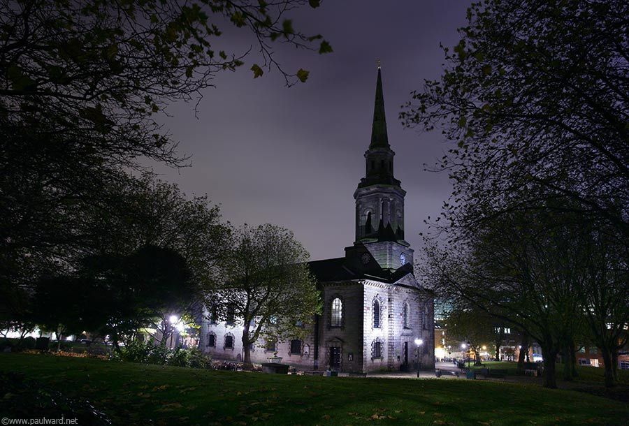 St Pauls Square by Birmingham architectural photographer Paul Ward