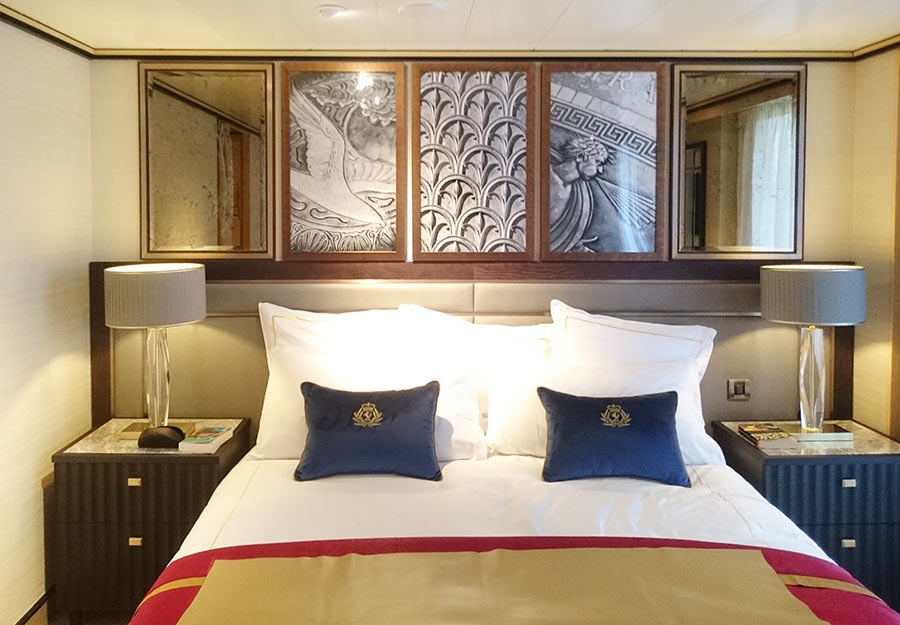 Cunard Queen Mary cabin images by Photographer Paul Ward