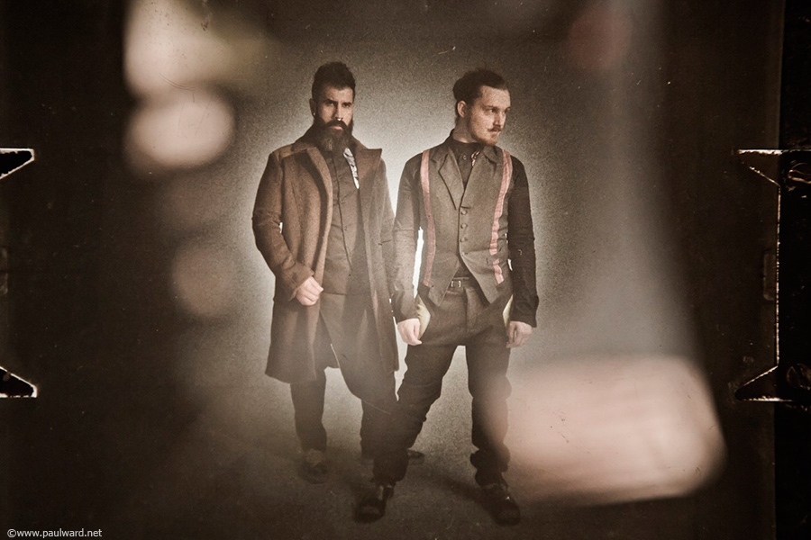 Mens Fashion shoot by photographer Paul Ward