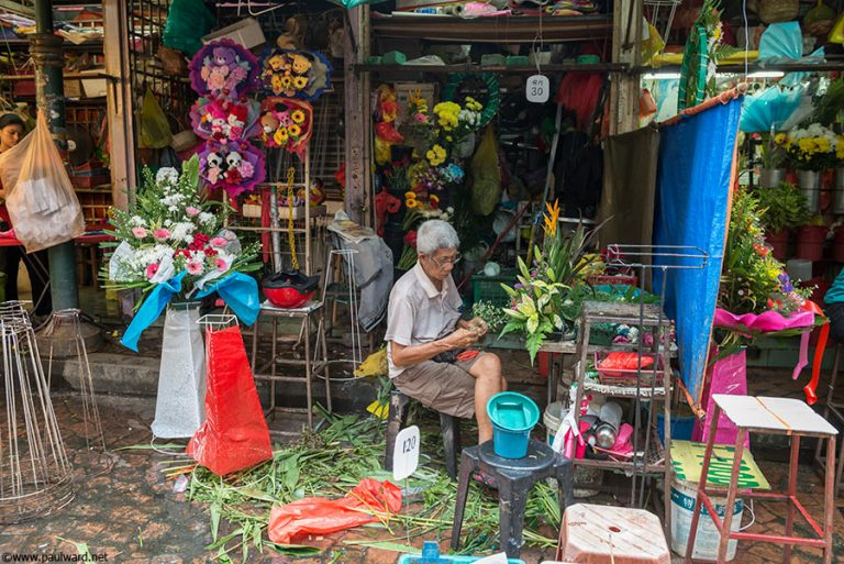 florist malaysia by Birmingham travel photographer Paul Ward