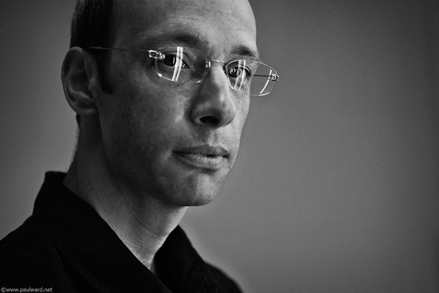 Ian Wallman Portrait shoot by Paul Ward