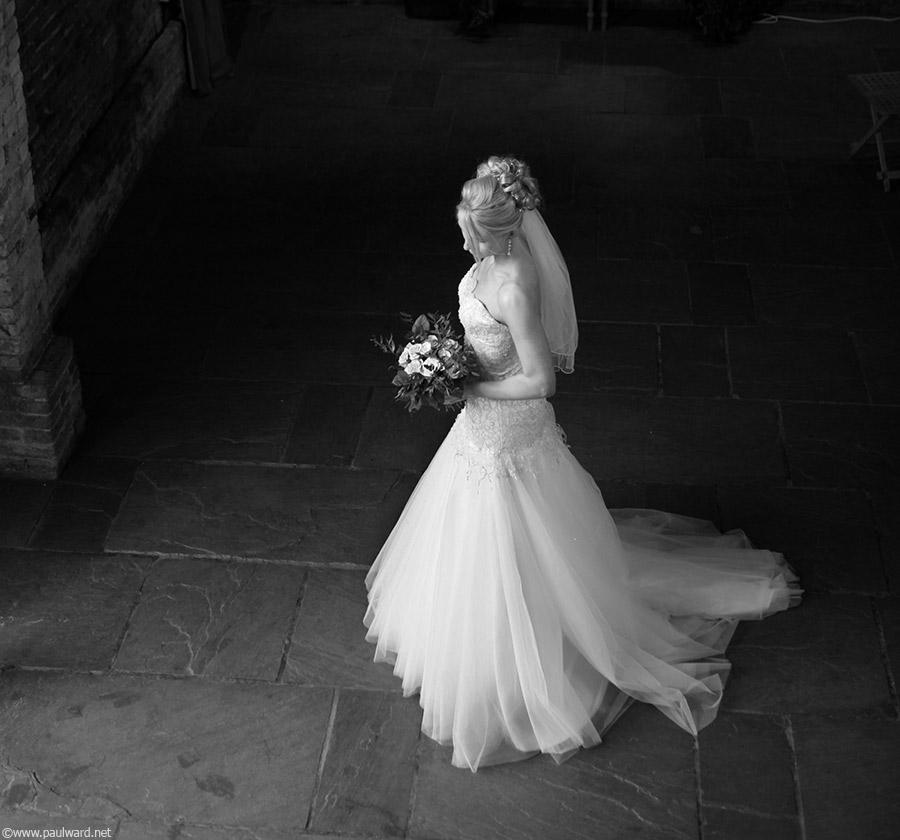 bridal photography by Birmingham wedding photographer Paul Ward