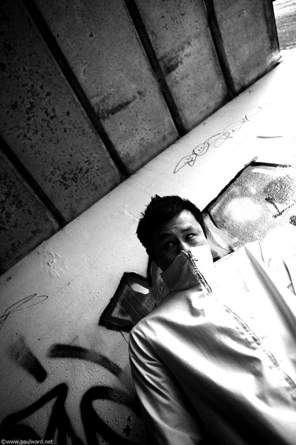 Ken Fan DJ portfolio shoots by photographer Paul Ward