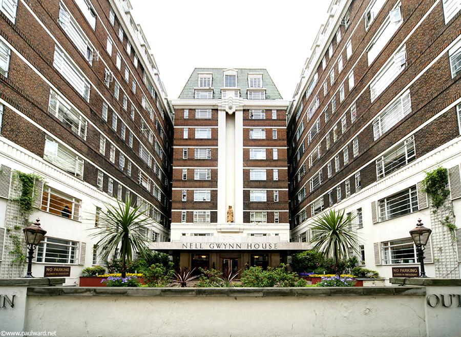 london hotel by Birmingham architectural photographer Paul Ward