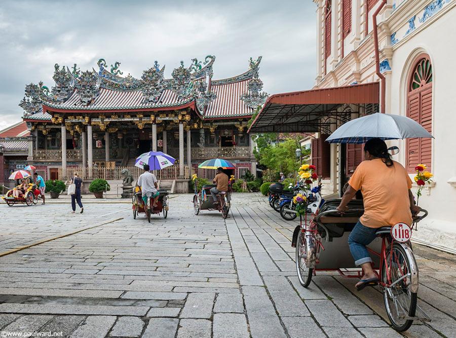Penang bikes by Birmingham travel photographer Paul Ward