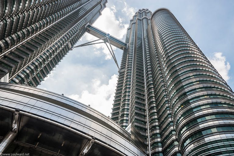 Petronas towers by Birmingham travel photographer Paul Ward