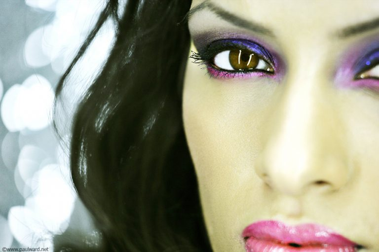 asian makeup shoot by Birmingham photographer Paul Ward