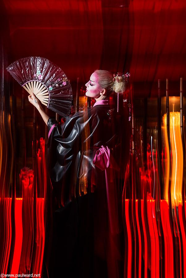 Latex fashion shoot Birmingham by photographer Paul Ward