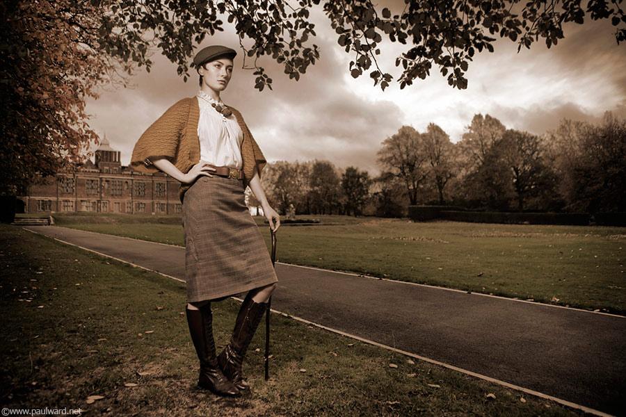 vintage fashion location shoot by Birmingham photographer Paul Ward