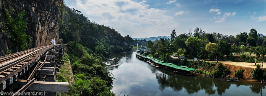 thailand railway by travel photograpger Paul Ward