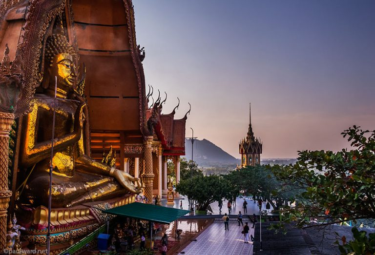 Wat Tham Suea Buddah by Birmingham travel photographer Paul Ward