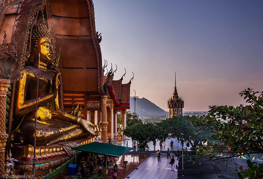 Wat Tham Suea Buddah by Birmingham travel photographer Paul Ward