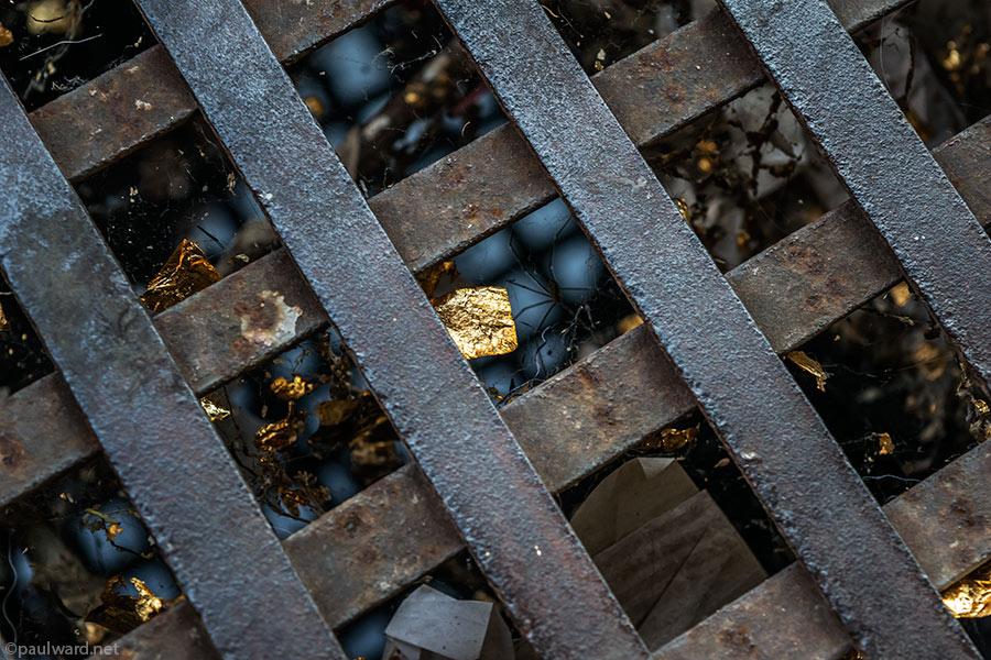gold leaf by Birmingham travel photograpger Paul Ward