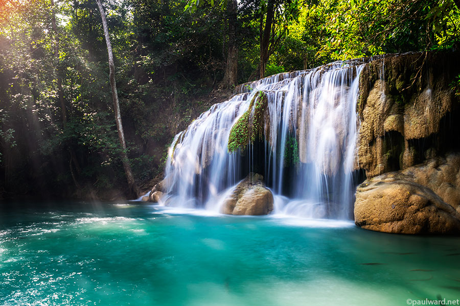 waterfall thailand by Birmingham travel photograpger Paul Ward