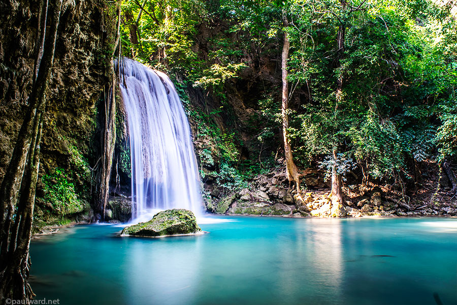 waterfall thailand by Birmingham travel photograpger Paul Ward