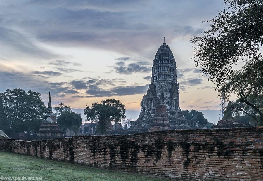 Ayutthaya sunrise thailand by Birmingham travel photograpger Paul Ward
