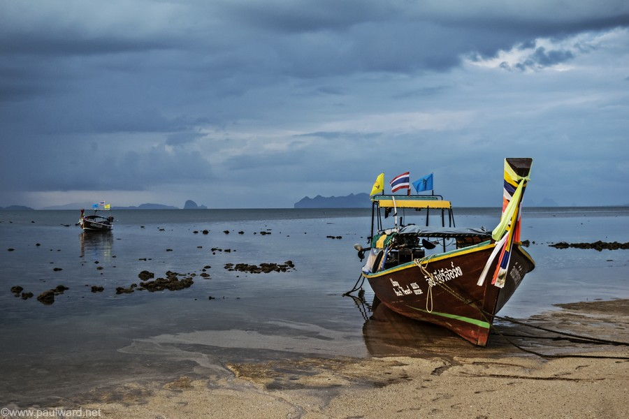 boat thailand by Birmingham travel photograpger Paul Ward