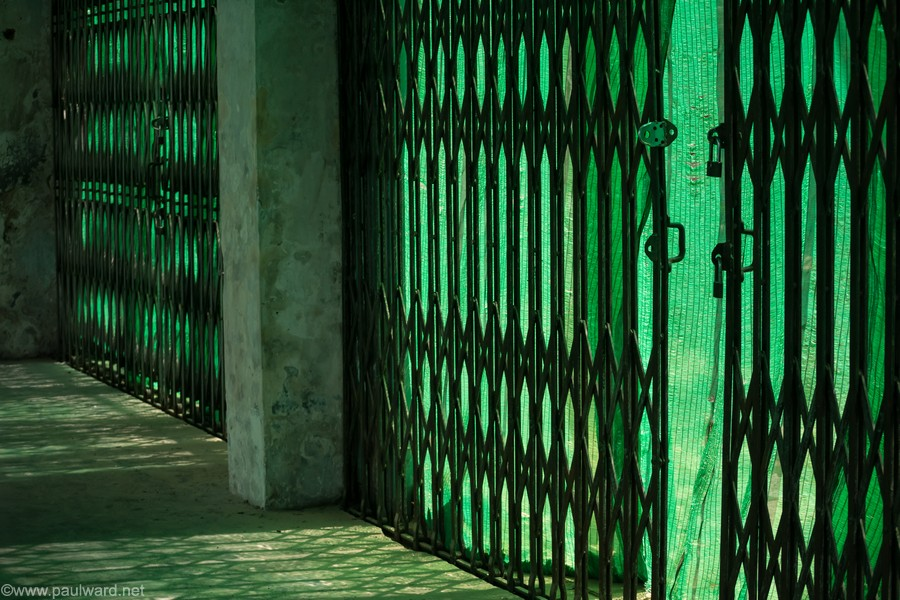 green gates travel photography by Paul Ward