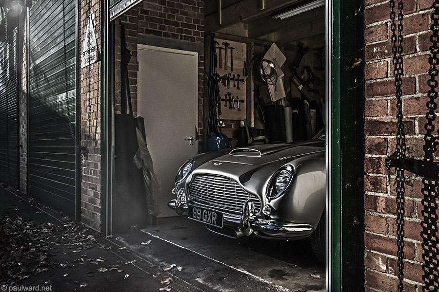 Aston Martin DB5 by Car photographer Paul Ward