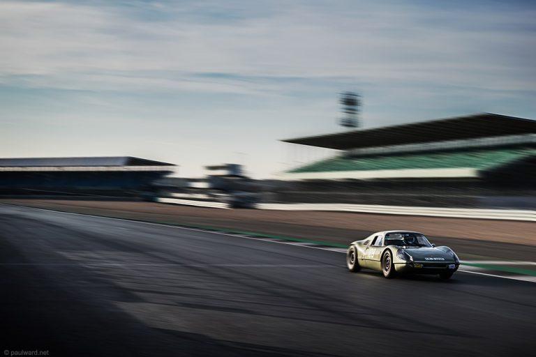 Porsche 904 racing automotive photography by car photographer from Birmingham Paul Ward