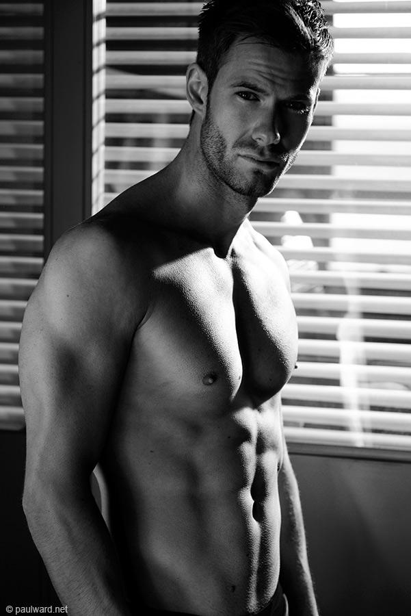 male model shoot