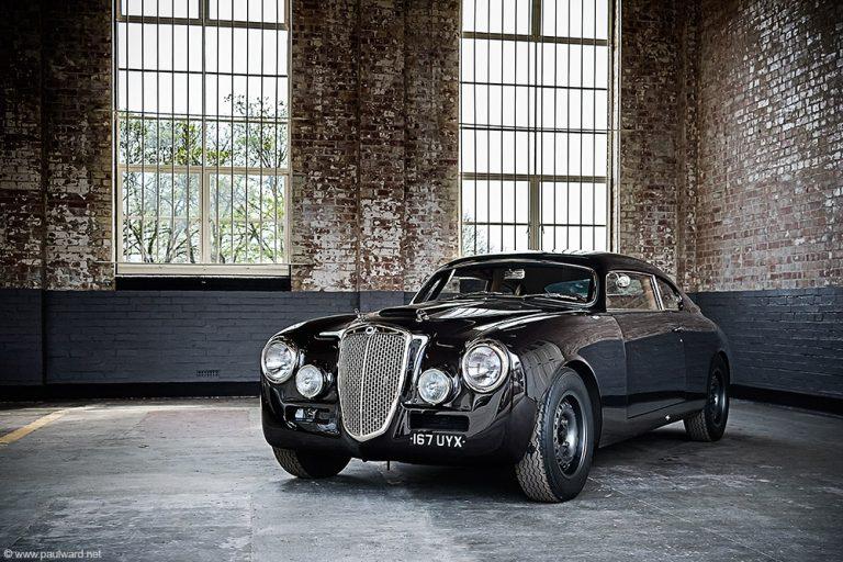 lancia aurelia classic car photography by automotive photographer Paul Ward