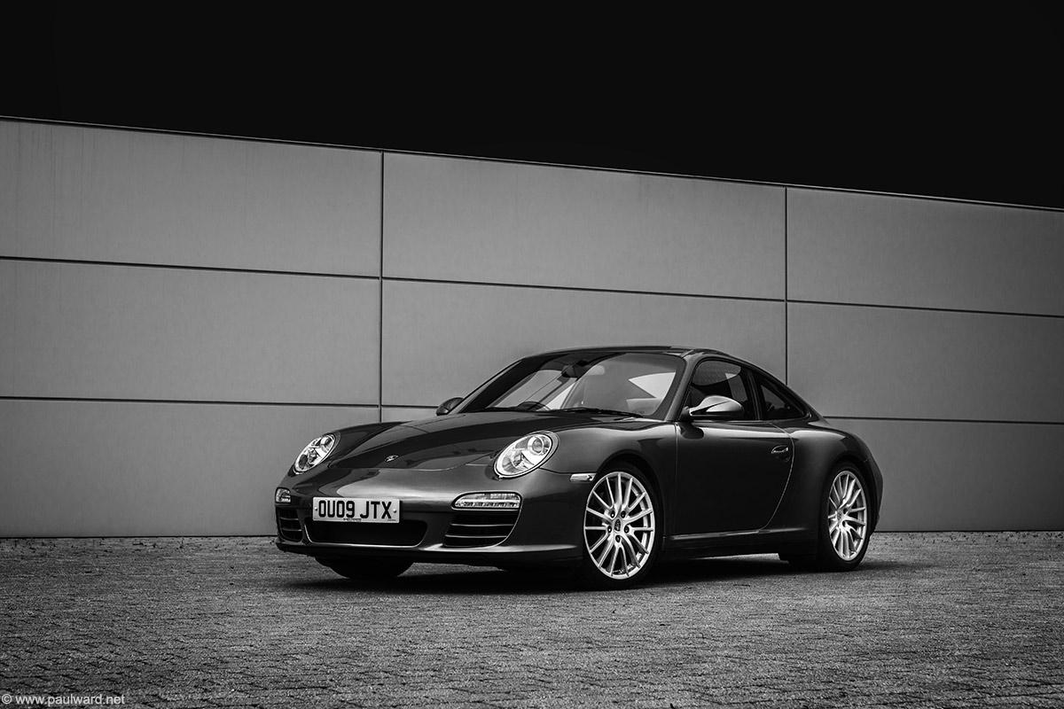 Porsche 911 by Birmingham automotive photographer Paul Ward