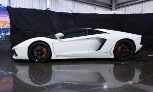 Lamborghini car shoot behind the scenes