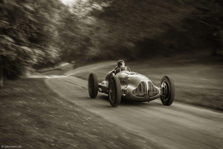 ERA e type race car at Prescott Hill Climb photograph by Birmingham Car photographer Paul Ward
