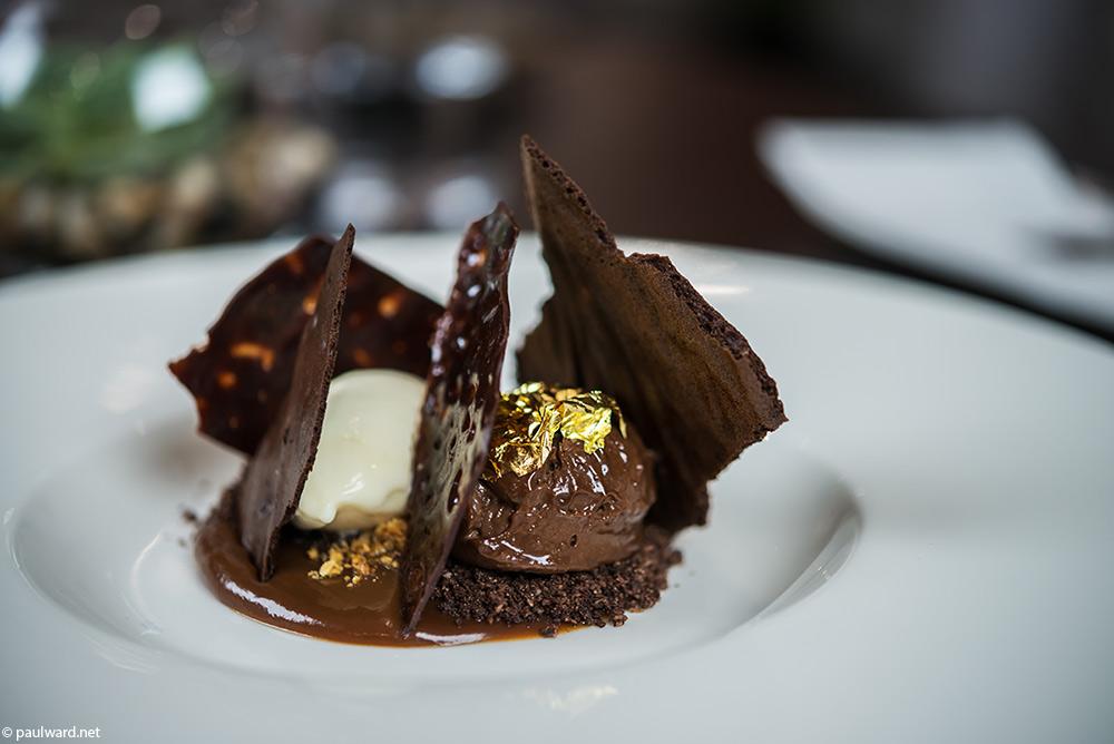 Maribel restaurant dessert food photography by Birmingham photographer Paul Ward