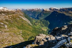 Geiranger Fjord, Norway, landscape photography by Travel Photographer Paul Ward