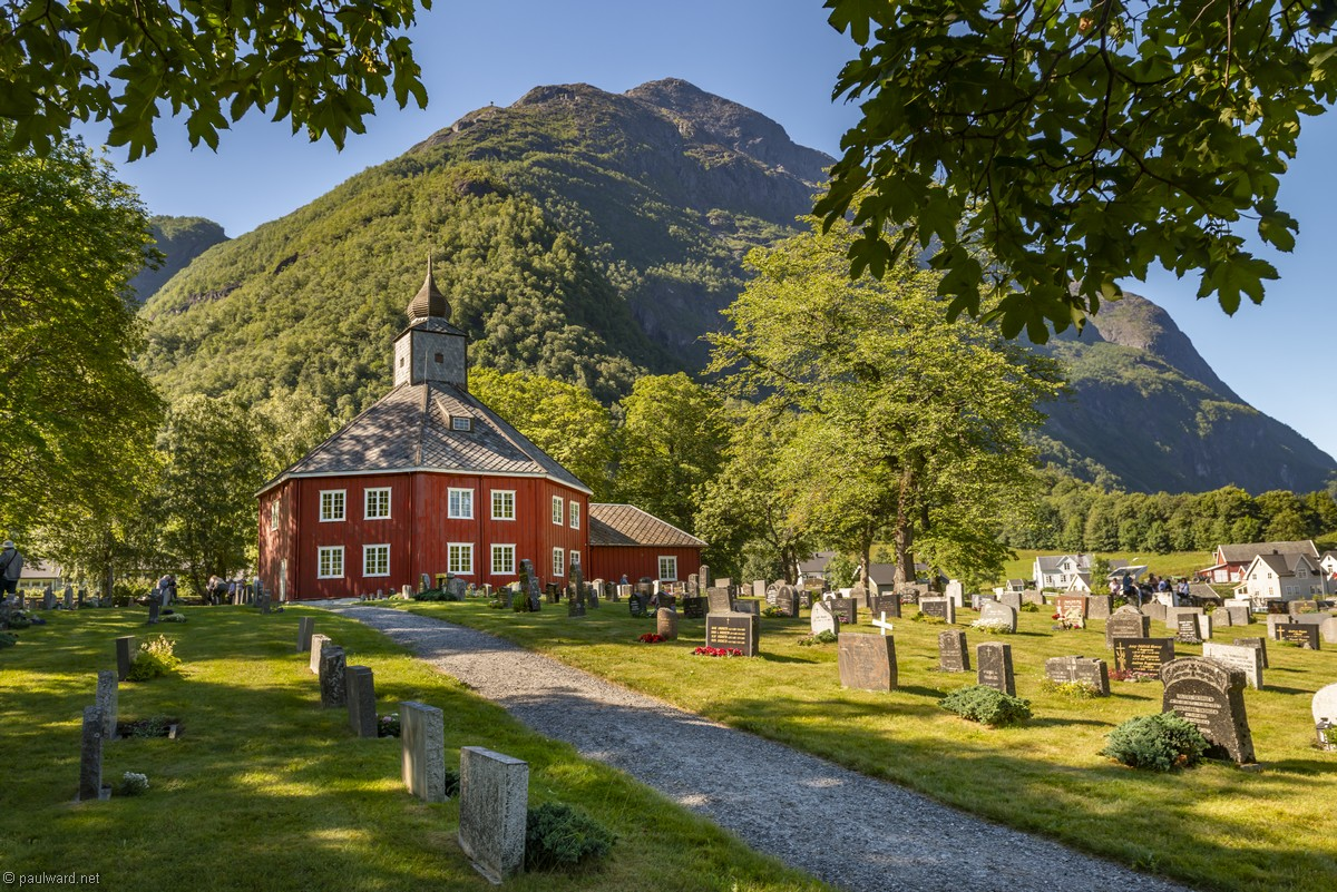 Wooden Church, Norway, landscape photography by Travel Photographer Paul Ward