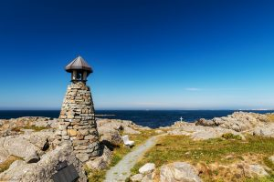 Fishermans memorial, Norway, landscape photography by Travel Photographer Paul Ward