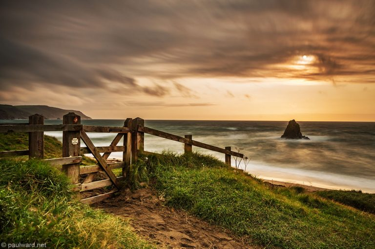 Widmouth bay. Devon by landscape photographer Paul Ward