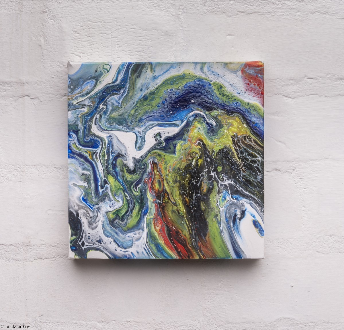 abstract painting by Paul Ward