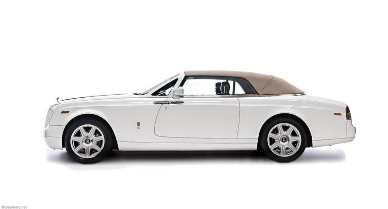 Rolls Royce Phantom, car photography by Paul Ward, Birmingham